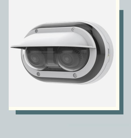AXIS P3715 PLVE cетевая камера  с двумя независимыми объективами